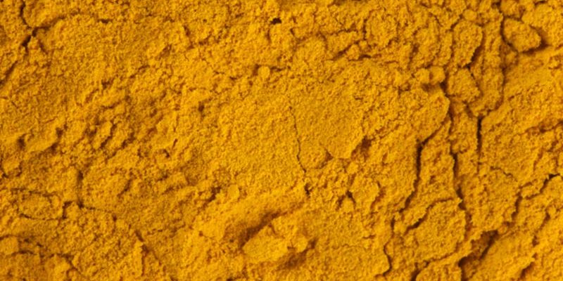 Herbs and spices turmeric powder
